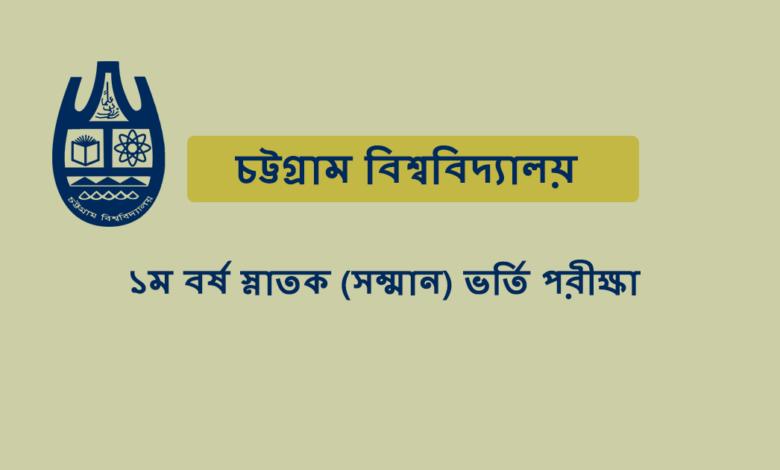 Chittagong University Admission