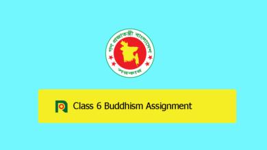 Class 6 Buddhism Assignment